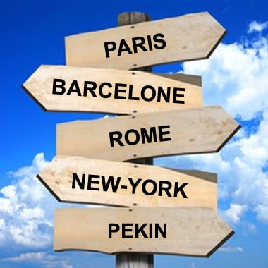 Principales villes à visiter