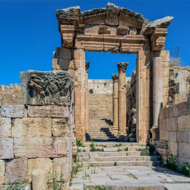Visite guidée privée Jerash